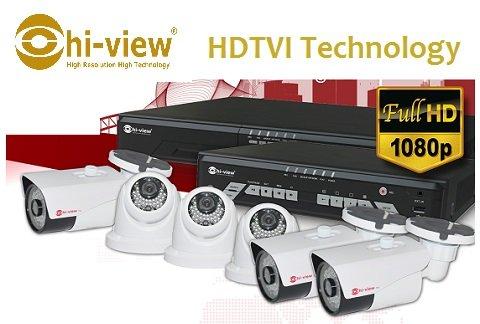 กล้องวงจรปิด Hiview กับเทคโนโลยี HDTVI